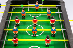 Foosball Football Toy Game Stock Photography