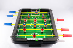 Foosball Football Toy Game Stock Images