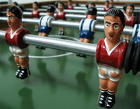 Foosball game Stock Photography