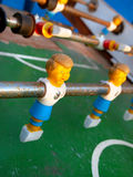 Foosball gracz Obraz Stock
