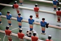 Foosball of Lijstvoetbal Stock Afbeeldingen