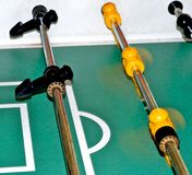Foosball Motion Stock Images