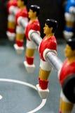 Foosball oder Tabellen-Fußball-Männer stockfotografie