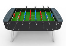 Foosball Soccer Table Game Stock Image
