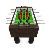 Foosball Soccer Table Game Royalty Free Stock Images