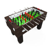 Foosball Soccer Table Game Royalty Free Stock Photography