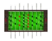 Foosball Soccer Table Game Stock Photos