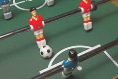 Foosball Spiel lizenzfreie stockfotografie