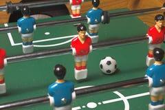 Foosball Spiel lizenzfreie stockbilder