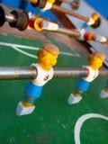 Foosball-Spieler Stockbild