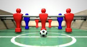Foosball-Tabelle stockfoto