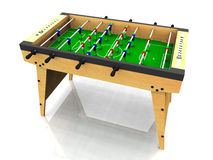 Foosball Tabelle. lizenzfreie abbildung
