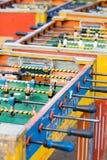 Foosball Tabellen stockfotos