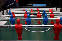 Foosball table Royalty Free Stock Image