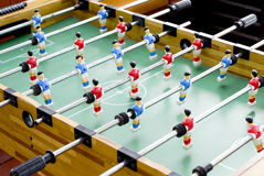 Foosball table Royalty Free Stock Photo