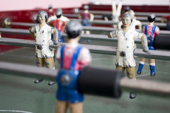 Foosball table Stock Image