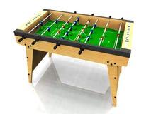 Foosball table. royalty free illustration