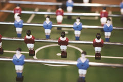 Foosball table Royalty Free Stock Photography