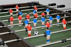 Foosball or Table Football Stock Image