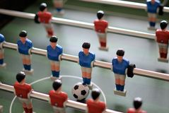 Foosball or Table Football Stock Images