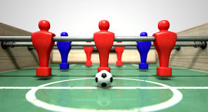 Foosball Table Stock Photo