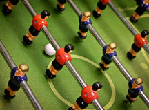 Foosball Table Play Stock Photo