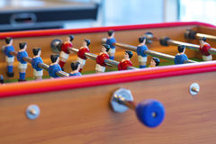 Foosball table Royalty Free Stock Images