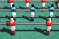 Foosball. table soccer Stock Images