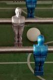 Foosball - table soccer detail Stock Image