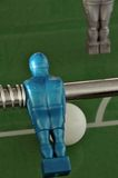 Foosball - table soccer detail Stock Photos