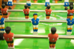 Foosball table soccer game Royalty Free Stock Photos