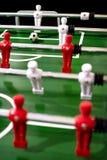 Foosball table soccer sport team football players.  stock image