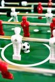 Foosball table soccer sport team football players.  royalty free stock photo