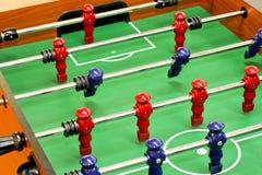 Foosball tablero imagen de archivo