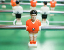 Foosball. Topscorer. Stock Photo