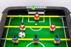 Foosballvoetbal Toy Game stock foto's