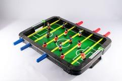 Foosballvoetbal Toy Game stock afbeelding