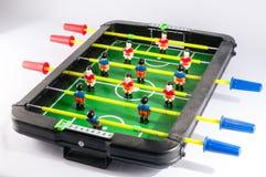 Foosballvoetbal Toy Game stock fotografie