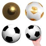Foot balls Stock Image