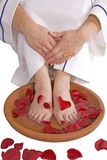 Foot bath Stock Photography