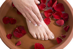 Foot bath Royalty Free Stock Photos