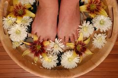 Foot Bath stock images