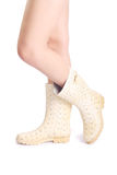 Foot in boots Stock Image