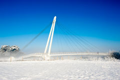 Foot Bridge Stock Images