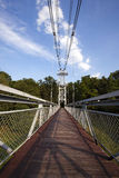 The foot bridge Stock Photo