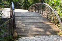 Foot bridge Royalty Free Stock Image