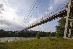 Foot bridge Stock Image
