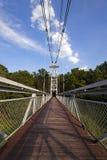 The foot bridge Stock Images