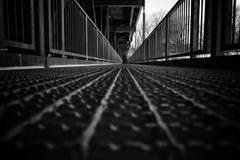 Foot bridge royalty free stock photography