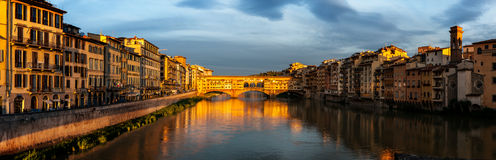 Foot bridge Vecchio Florence Royalty Free Stock Image